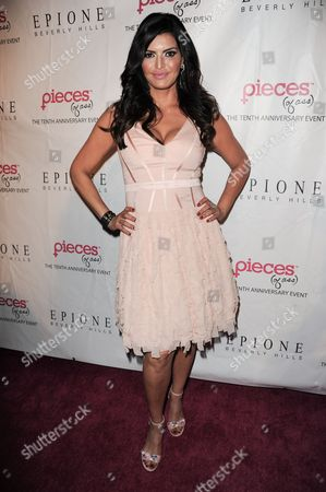 "Jennifer Gimenez arrives at the ""Pieces (of ass)"" 10th Anniversary celebration at the Fonda Theatre on in Los Angeles"