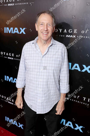 """Stock Image of Dennis Dugan seen at Los Angeles Premiere of """"Voyage of Time: The IMAX Experience"""" at California Science Center IMAX Theatre, in Los Angeles"""
