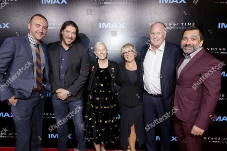 "Editorial picture of Premiere of ""Voyage of Time: The IMAX Experience"", Los Angeles, USA"