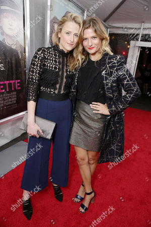 Mamie Gummer and Louisa Gummer seen at New York Premiere of Focus Features 'Suffragette' at the Paris Theatre on in New York