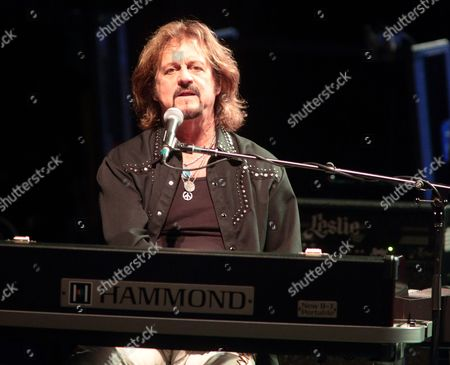 Gregg Rolie performs in concert with Ringo Starr and his All Starr Band at the Modell Performing Arts Center At The Lyric, in Baltimore