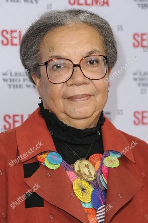Marian Wright Edelman arrives at Selma And The Legends That Paved The Way Gala, in Goleta, Calif