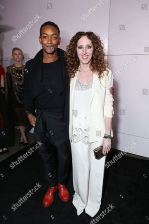 Kyle Blackmon and Jen Rade at Smithsonian Channel's Celebration of Vintage Clothing Mecca The Way We Wore, With New Original Series L.A. FROCK STARS, on in Los Angeles