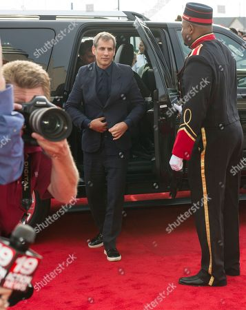 Producer, Barry Mendel arrives at the special screening of the comedy, 'Trainwreck' at the Regal Cinemas Montrose Stadium 12 theaters,, in Akron, Ohio