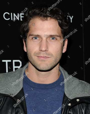 """Stock Photo of Actor Jammy Taylor attends Fox Searchlight Pictures' premiere of """"Trance"""", hosted by The Cinema Society with Montblanc, at the SVA Theater on in New York"""