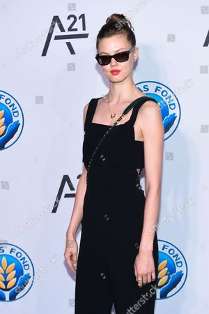 Model Lindsey Wixon attends the Unitas Gala against sex trafficking at Capitale, in New York
