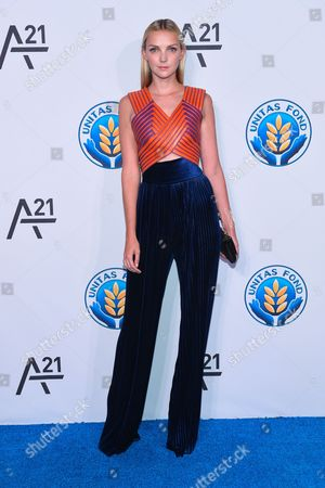 Model Heather Marks attends the Unitas Gala against sex trafficking at Capitale, in New York