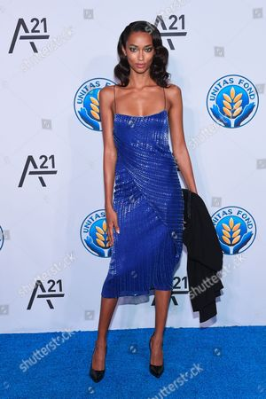 Model Anais Mali attends the Unitas Gala against sex trafficking at Capitale, in New York