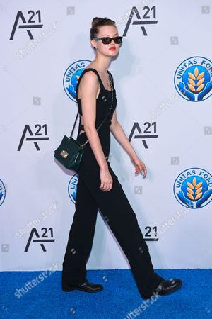 Stock Picture of Model Lindsey Wixon attends the Unitas Gala against sex trafficking at Capitale, in New York