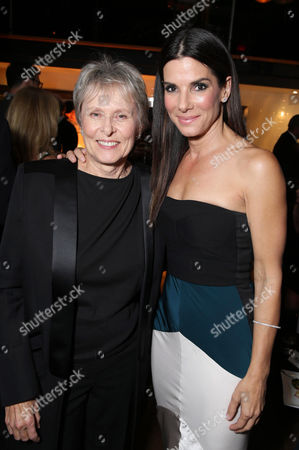 Canadian Astronaut Dr. Roberta Bondar and Sandra Bullock seen at Warner Bros. 'Gravity' Premiere at 2013 TIFF presented by Audi, on Sunday, Sep, 8, 2013 in Toronto