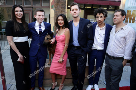 "Lauren Graham, Josh Wiggins, Jagger, Mia Xitlali, Luke Kleintank, Dejon LaQuake and Boaz Yakin seen at the Warner Bros. and Metro-Goldwyn-Mayer ""MAX"" Los Angeles Premiere on"
