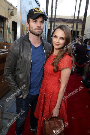 """Stock Image of Daniel Gillies and Rachel Leigh Cook seen at the Warner Bros. and Metro-Goldwyn-Mayer """"MAX"""" Los Angeles Premiere on"""