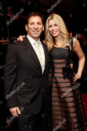 Reid Drescher and Aviva Drescher attend the We Are Family Honors Sting & Trudie Styler concert at the Manhattan Center Grand Ballroom on in New York