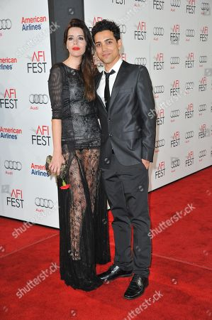 """Anabela Moreira, left, and Rafael Morais arrive at the """"West of Memphis"""" special screening as part of AFI Fest, in Los Angeles"""