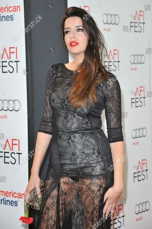 """Anabela Moreira arrives at the """"West of Memphis"""" special screening as part of AFI Fest, in Los Angeles"""