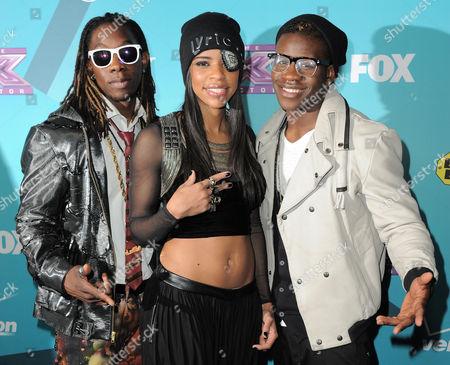 Editorial image of X-Factor Finalists Party, Los Angeles, USA