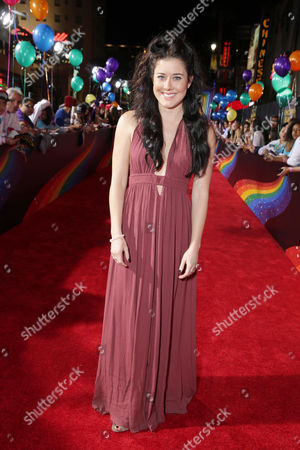 Manon Mathews seen at YouTube star Lilly Singh debuts the World Premiere of 'A Trip to Unicorn Island' at TCL Chinese Theatre, in Hollywood, CA