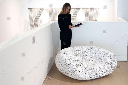 'Crochet' chair by Marcel Wanders Estimate £15,000 - £20,000 Phillips Auction House