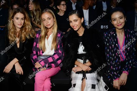 Alice David, Lady Amelia Windsor, Naomi Scott, Gao Yuanyuan