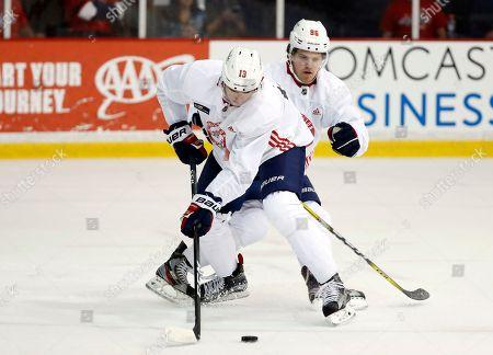 Editorial image of Capitals Camp Hockey, Arlington, USA - 15 Sep 2017