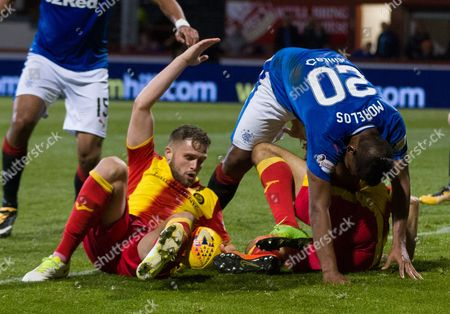 Editorial photo of Partick Thistle v Rangers, Ladbrokes Scottish Premership, The Energy Check Stadium at Firhill, Glasgow, UK - 15 September 2017