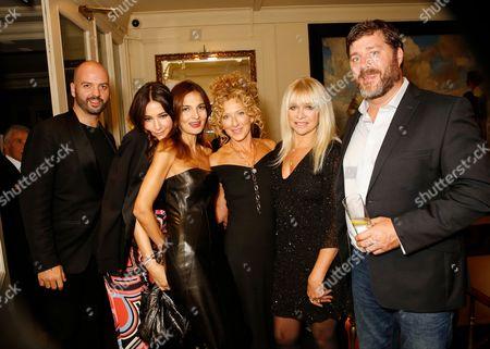 Justin Horne, Lisa Snowdon, Yasmin Mills, Kelly Hoppen, Jo Wood and Paul Scarborough