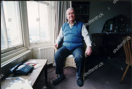 Author Kingsley Amis At Home.