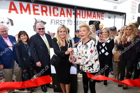 Editorial image of American Humane's California Animal Rescue Truck Unveiling, Beverly Hills, USA - 15 Sep 2017