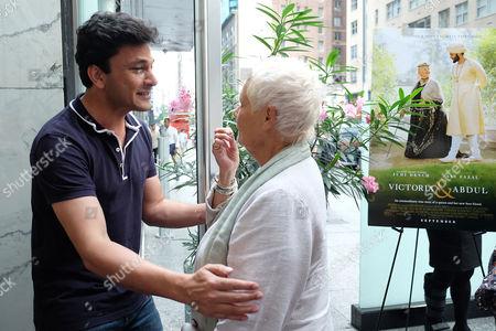 Vikas Khanna and Judi Dench