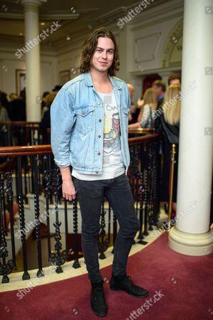Editorial photo of Joshua Kane show, Arrivals, Spring Summer 2018, London Fashion Week, UK - 15 Sep 2017