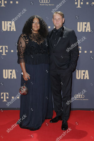 Devid Striesow and seine Frau Francine