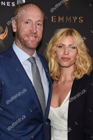 Matt Walsh, Morgan Walsh. Matt Walsh, left, and Morgan Walsh arrive at the 2017 Performers Nominee Reception Presented by the Television Academy at the Wallis Annenberg Center for the Performing Arts, in Beverly Hills, Calif