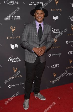 Pooch Hall arrives at the 2017 Performers Nominee Reception Presented by the Television Academy at the Wallis Annenberg Center for the Performing Arts, in Beverly Hills, Calif
