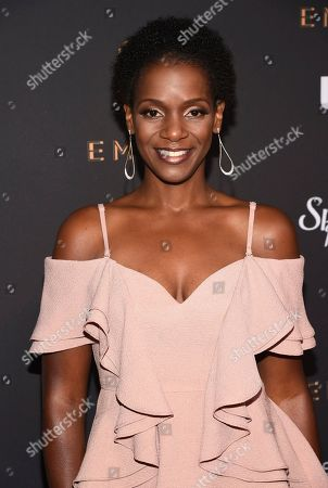 Kelsey Scott arrives at the 2017 Performers Nominee Reception Presented by the Television Academy at the Wallis Annenberg Center for the Performing Arts, in Beverly Hills, Calif