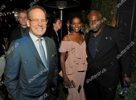 Dee Bradley Baker, Kelsey Scott, Kim Estes. Dee Bradley Baker, from left, Kelsey Scott, and Kim Estes are seen at the 2017 Performers Nominee Reception Presented by the Television Academy at the Wallis Annenberg Center for the Performing Arts, in Beverly Hills, Calif