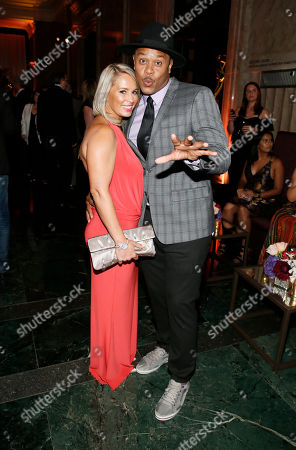 Linda Hall, Pooch Hall. Linda Hall, left, and Pooch Hall seen at the 2017 Performers Nominee Reception Presented by the Television Academy at the Wallis Annenberg Center for the Performing Arts, in Beverly Hills, Calif
