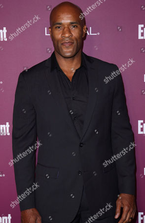 LaMonica Garrett arrives at the 69th Primetime Emmy Awards Entertainment Weekly pre party at the Sunset Tower Hotel, in Los Angeles