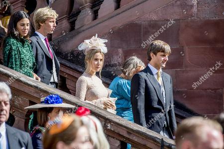 Prince Ernst August jr., Ekaterina Malysheva, Prince Christian of Hannover,Alessandra de Osma