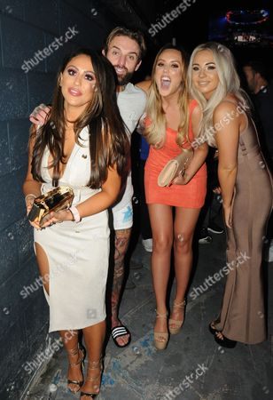 Aaron Chalmers and Charlotte Crosby and Sophie Kasaei