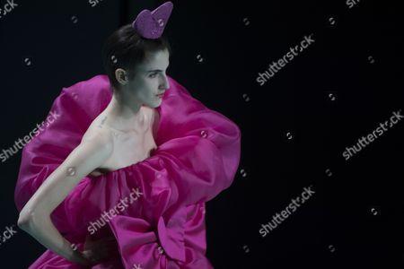 Editorial image of Agatha Ruiz de la Prada's' show, Spring Summer 2018, Madrid Fashion Week, Spain - 15 Sep 2017
