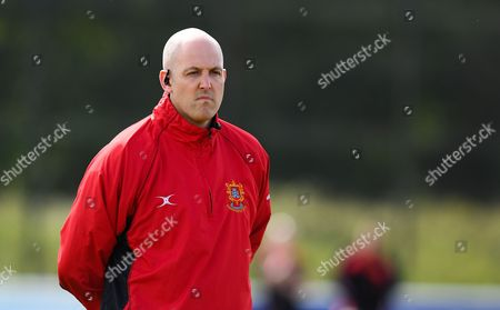 Steve Perry, head coach of Barnstaple looks on during the National League 2 South match between Taunton Titans and Barnstaple at Hyde Park, Taunton on September 16th 2017 ,Taunton , Somerset(Photo by Alex Davidson/PPAUK)