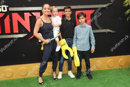 Marcela Valladolid and family