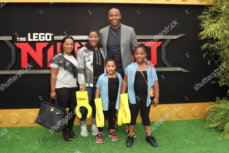 Andrea Pink, Caron Butler and family