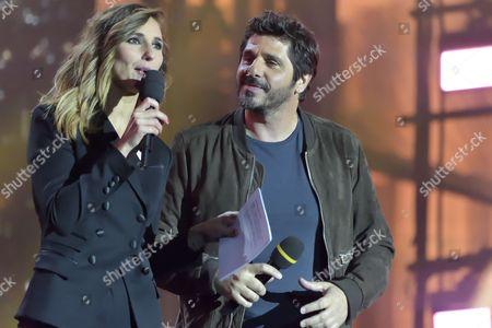Marie Portolano and Patrick Fiori