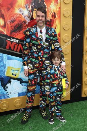 Perez Hilton and son Mario Lavandeira III