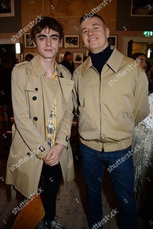 Lennon Gallagher and Alasdair McLellan