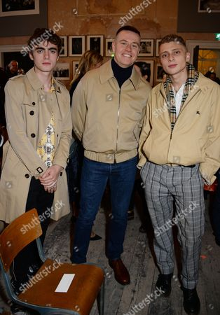 Lennon Gallagher, Alasdair McLellan and Blondey McCoy