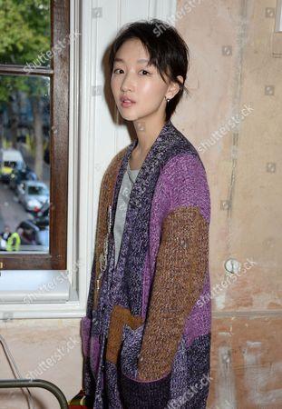 Stock Picture of Zhou Dongyu