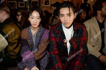 Zhou Dongyu and Kris Wu
