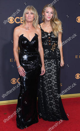 Stock Image of Robin Wright and Dylan Penn